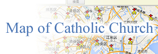 Map of Catholic Church