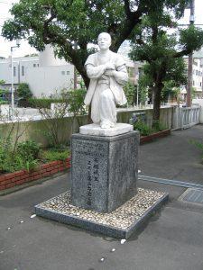 高山右近像 高槻教会(大阪府)