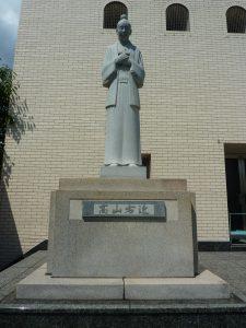 高山右近像 玉造教会(大阪府)