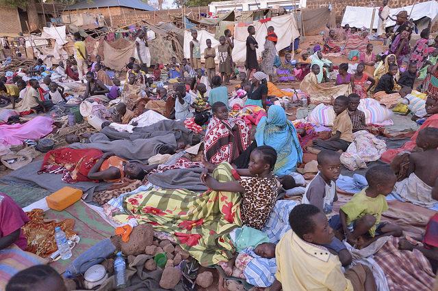 コンゴ民主共和国と南スーダンの...