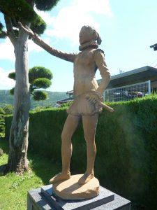 千々石ミゲル像